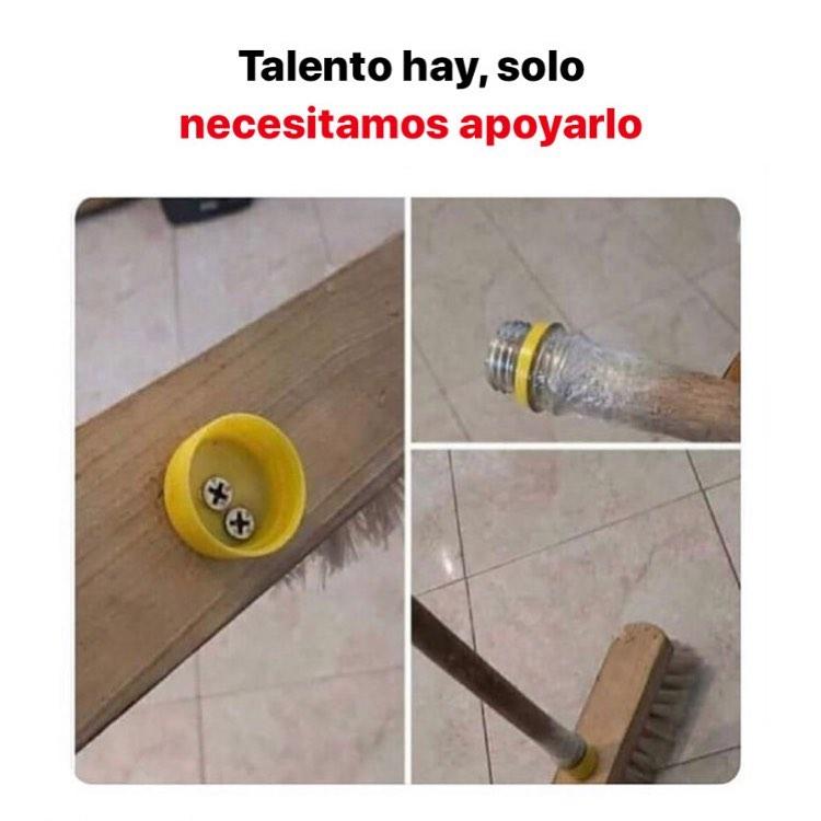 Talento hay, solo necesitamos apoyarlo.
