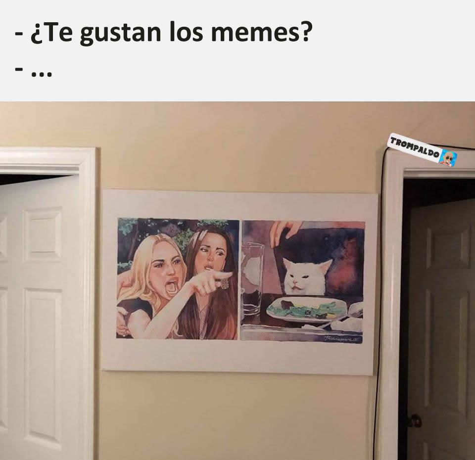 - ¿Te gustan los memes?  - ...