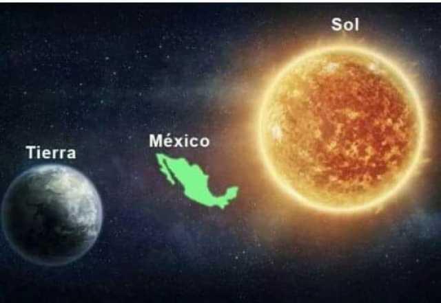 Tierra. México. Sol.
