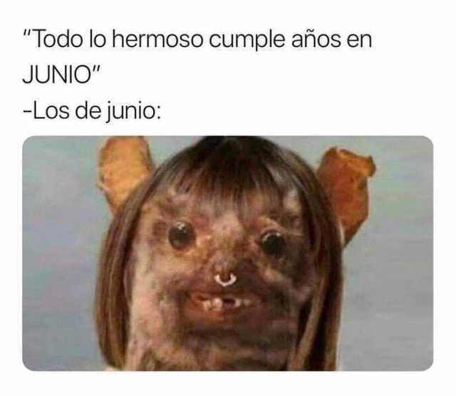 """""""Todo lo hermoso cumple años en Junio""""  - Los de junio:"""