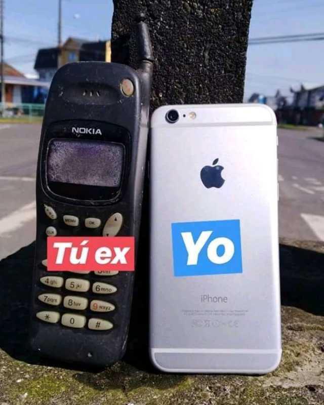 Tu ex. / Yo.