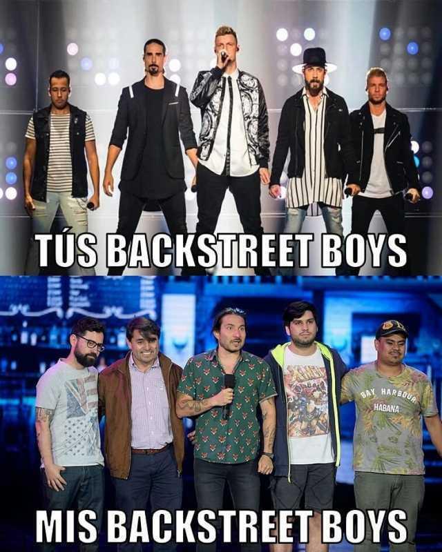 Tus Backstreet Boys. / Mis Backstreet Boys.