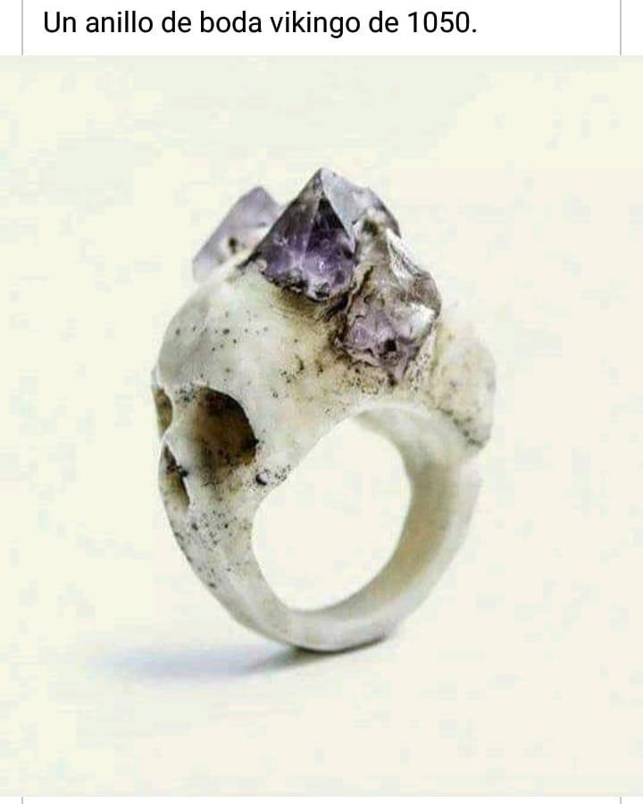 Un anillo de boda vikingo de 1050.