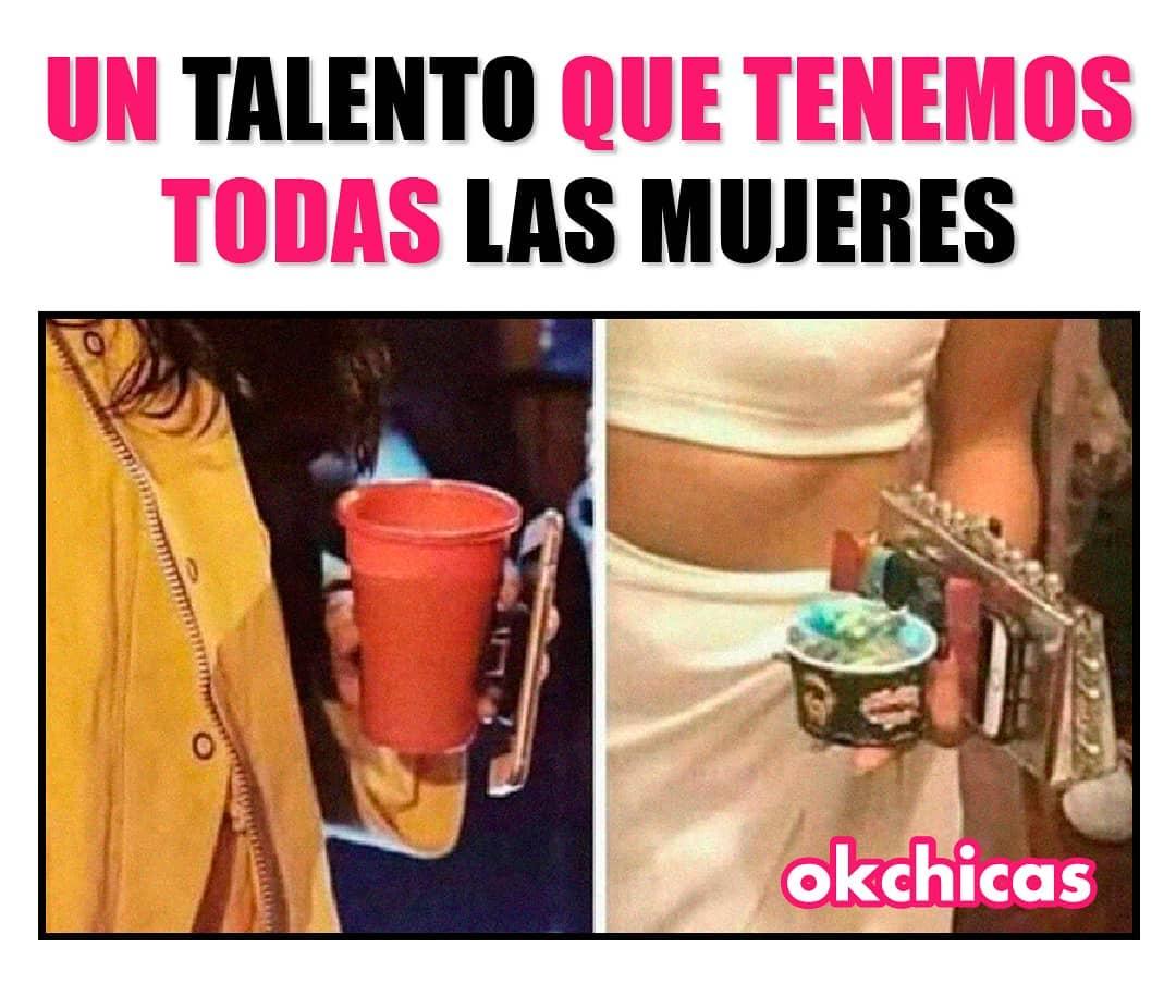 Un talento que tenemos todas las mujeres.