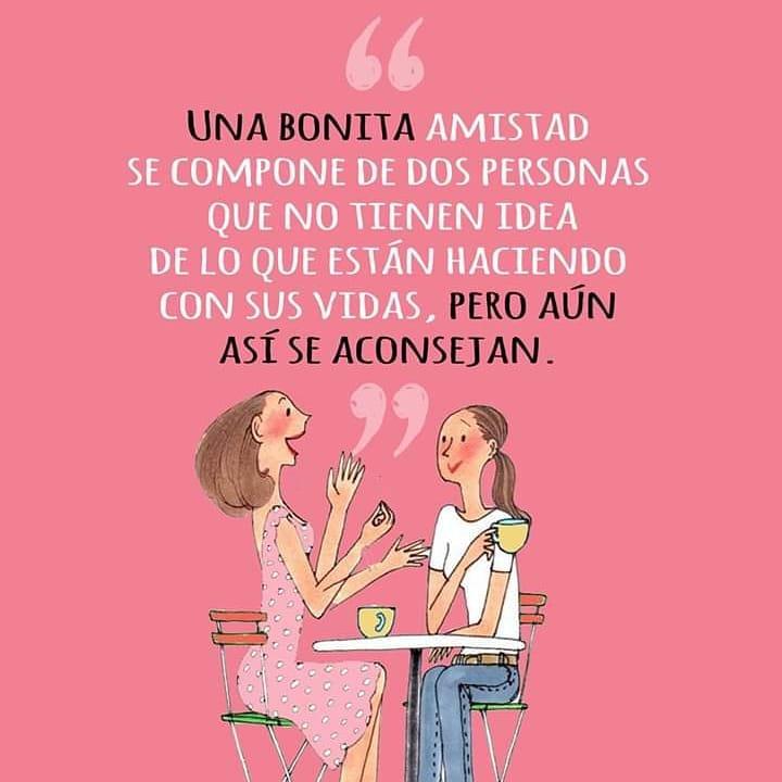 Una bonita amistad se compone de dos personas que no tienen idea de lo que están haciendo con sus vidas, pero aún así se aconsejan.