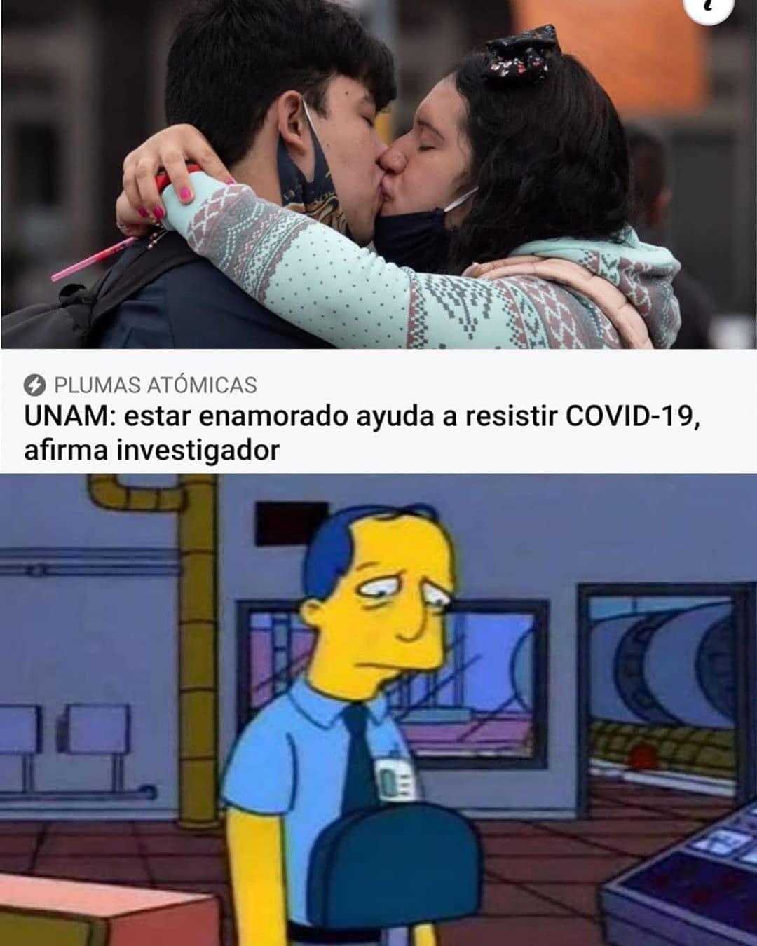 UNAM: estar enamorado ayuda a resistir COVID-19, afirma investigador.