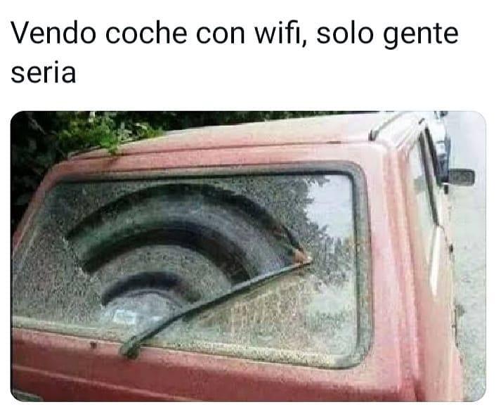 Vendo coche con wifi, solo gente seria.