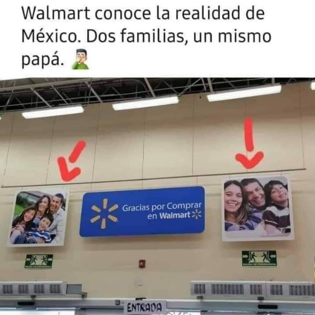 Walmart conoce la realidad de México. Dos familias, un mismo papá.