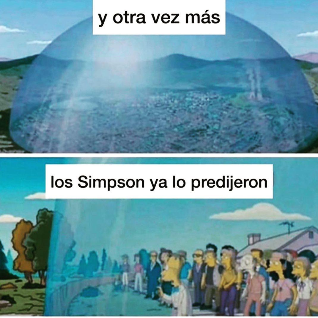 Y otra vez más los Simpson ya lo predijeron.