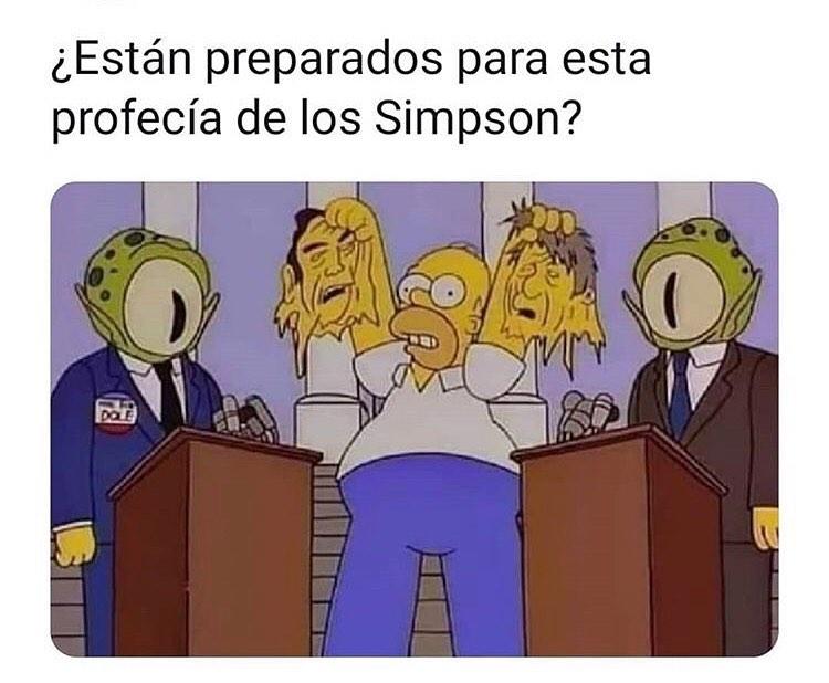 ¿Ya están preparados para esta profecía de los Simpson?