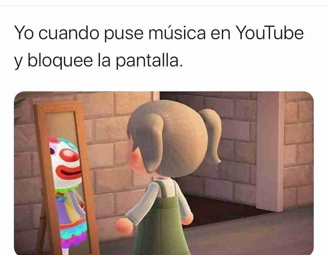 Yo cuando puse música en YouTube y bloquee la pantalla.