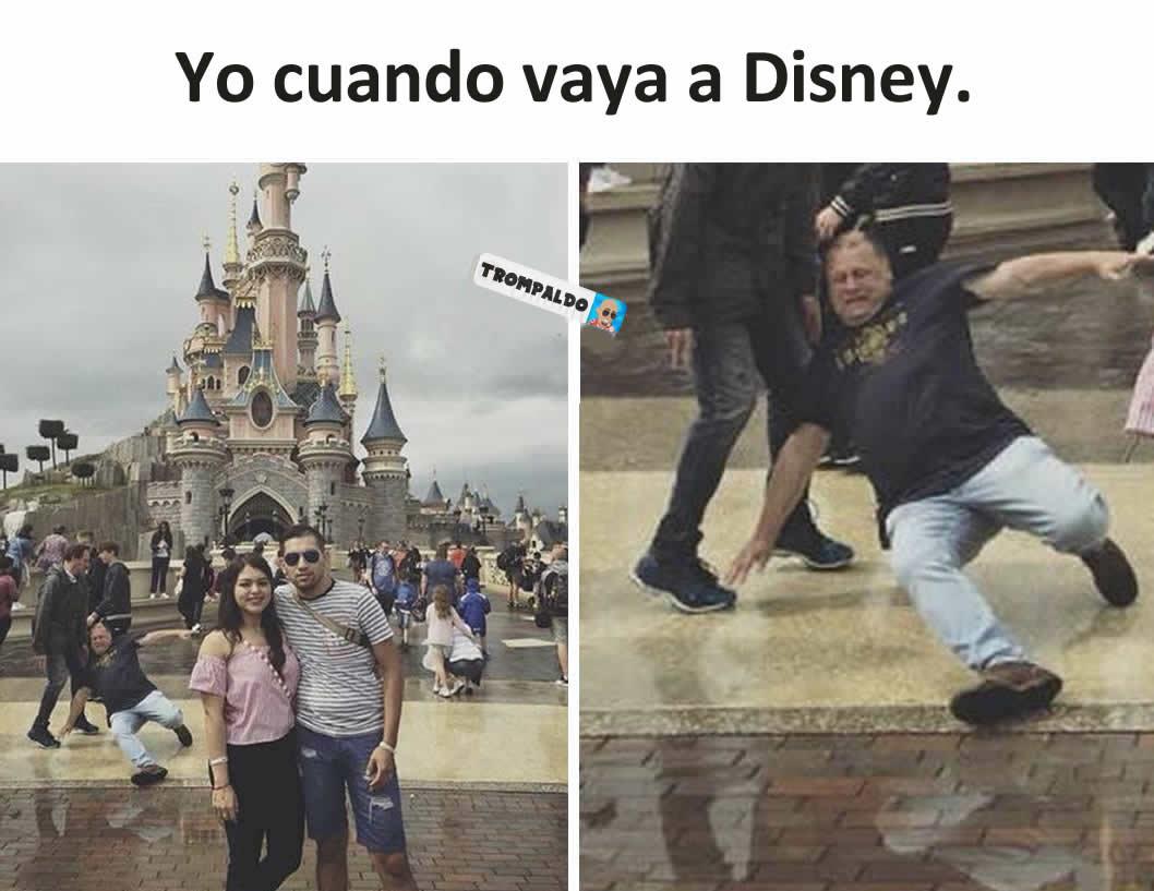 Yo cuando vaya a Disney.