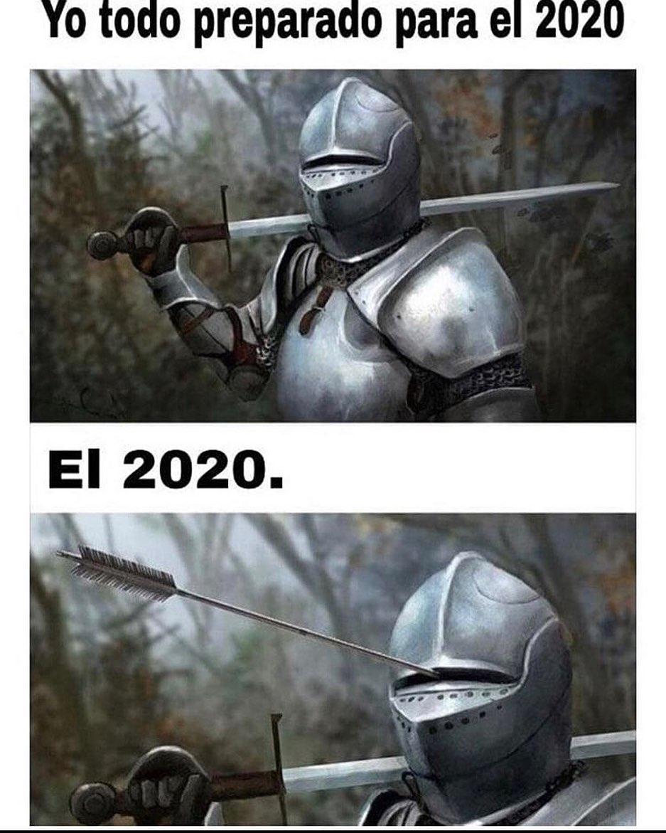 Yo todo preparado para el 2020.  El 2020.